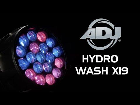 ADJ Hydro Wash X19 Sneak Peek