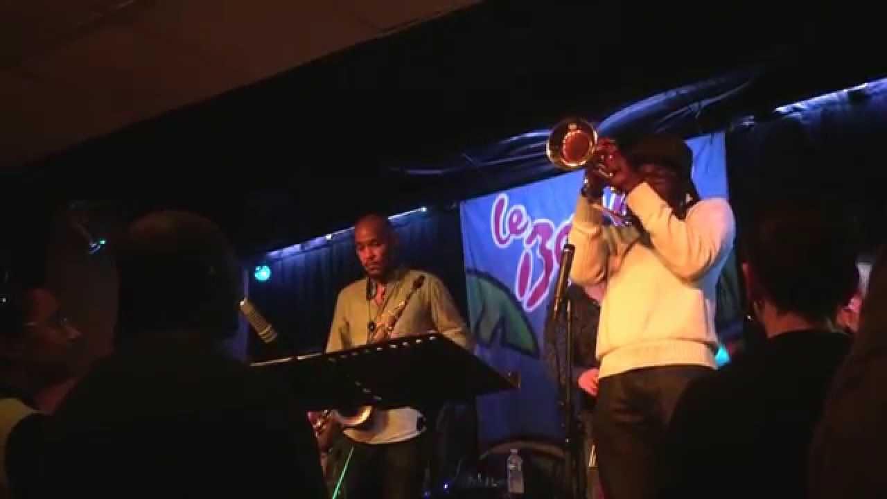 """Bassloop"" | Mario Canonge/Michel Zenino Quintet feat. Josiah Woodson (flg)"