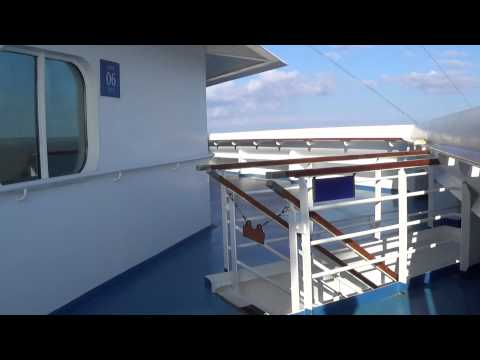 exploring some of the secret decks in the front of Carnival Conquest (March 10th, 2014)