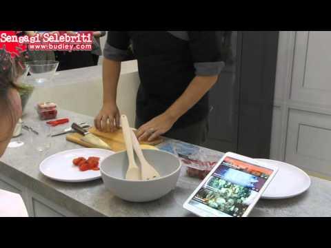 Nik Michael Tunjuk Cara Mudah Nak Sediakan Salad Sihat