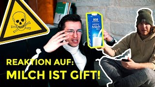 Meine Reaktion auf: Milch ist GIFT! | unge | Tim Gabel