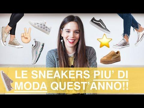 Quali sono le scarpe da ginnastica più di moda nel 2018? Le sneakers più in voga!