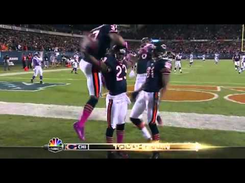 Devin Hester 98 yard Kickoff Return TD vs Vikings-HD