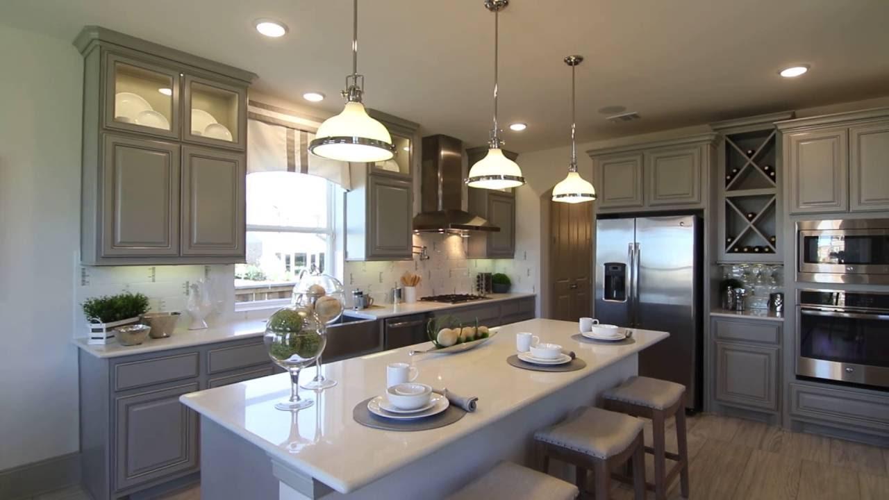 westin homes model kitchen at santa rita ranch - youtube