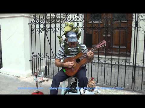 Cuba - Blind musician of Havanna / Kuba-der blinde Musiker von Havanna