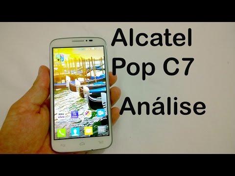 Alcatel POP C7 - Análise do Aparelho [Review BRASIL]