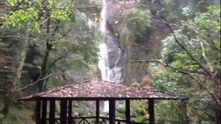 栴檀轟の滝 五家荘 落差70m 日本の滝百選 熊本