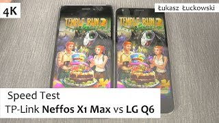 TP-Link Neffos X1 Max vs LG Q6 | Speed Test | MediaTek P10 vs Snapdragon 435