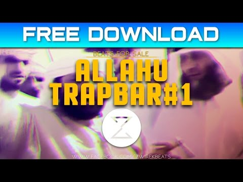 Allahu Trapbar #1 - Clean version Instrumental | Free download