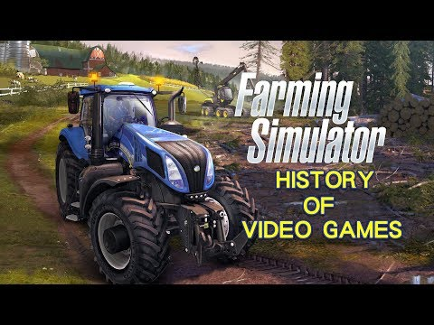 History of Farming Simulator (2008-2018) - Video Game History