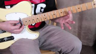 Nirvana Guitar Lesson - Territorial Pissings - Super Easy Rock Guitar Lessons Kurt Cobain