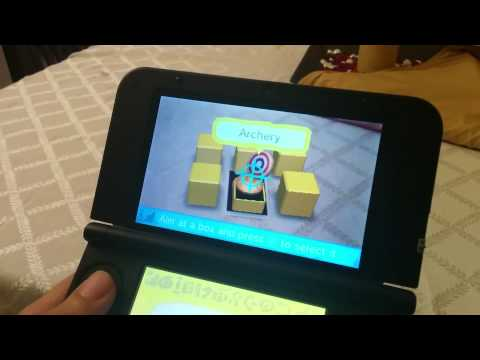 Nintendo DS XL - Augmented Reality demo
