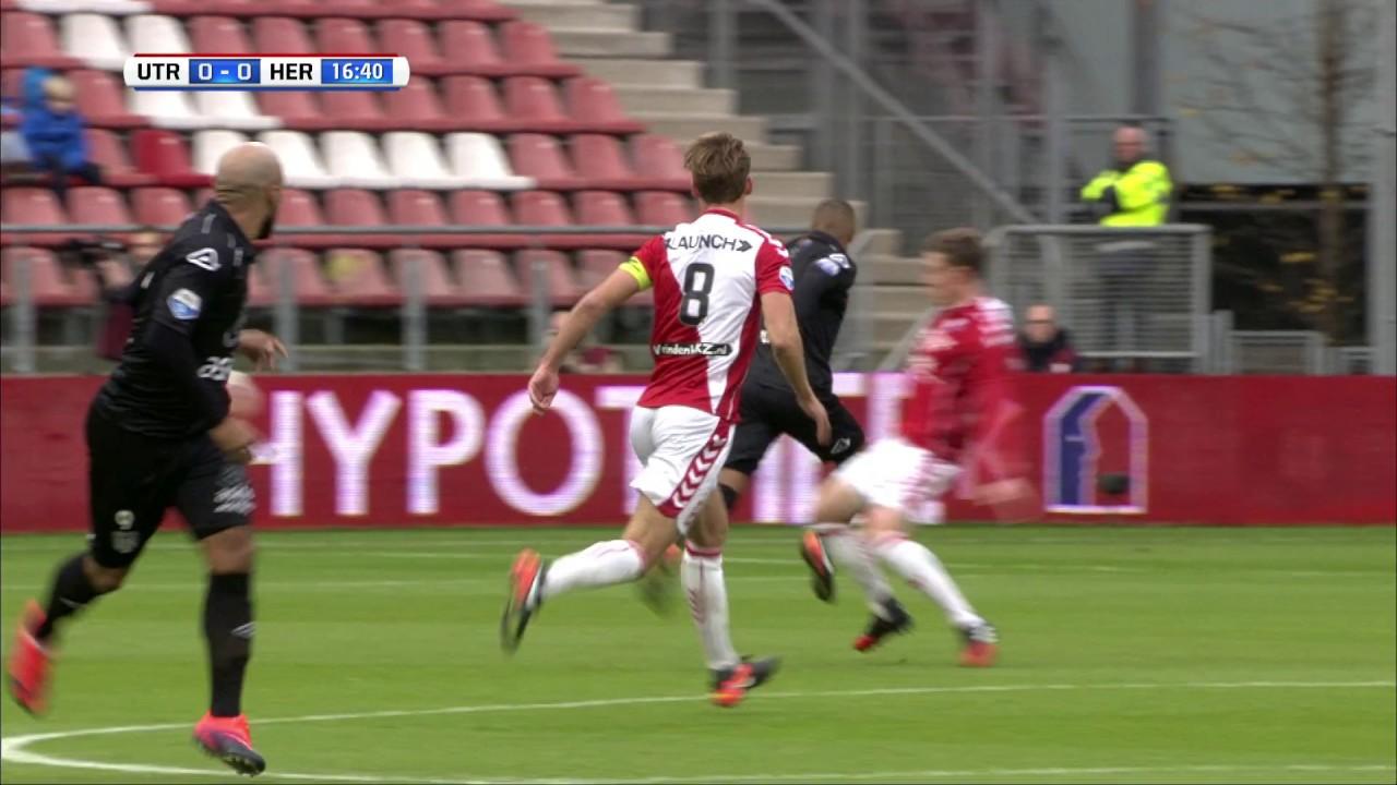 FC Utrecht - Heracles Almelo 2-0 | 11-12-2016 | Samenvatting