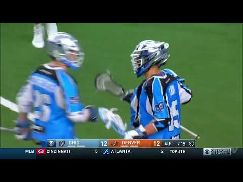 MLL Championship Highlights DEN vs OHIO 2nd Half