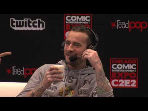 CM Punk C2E2 2017 Interview