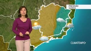 Previsão Sudeste – Muita umidade na costa