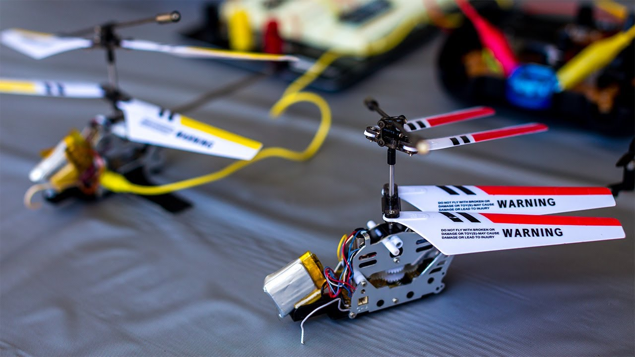 Hacking A 20 Toy Helicopter Into An Autonomous Drone