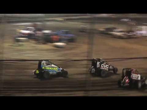 POWRi Midgets Feature  Macon Speedway