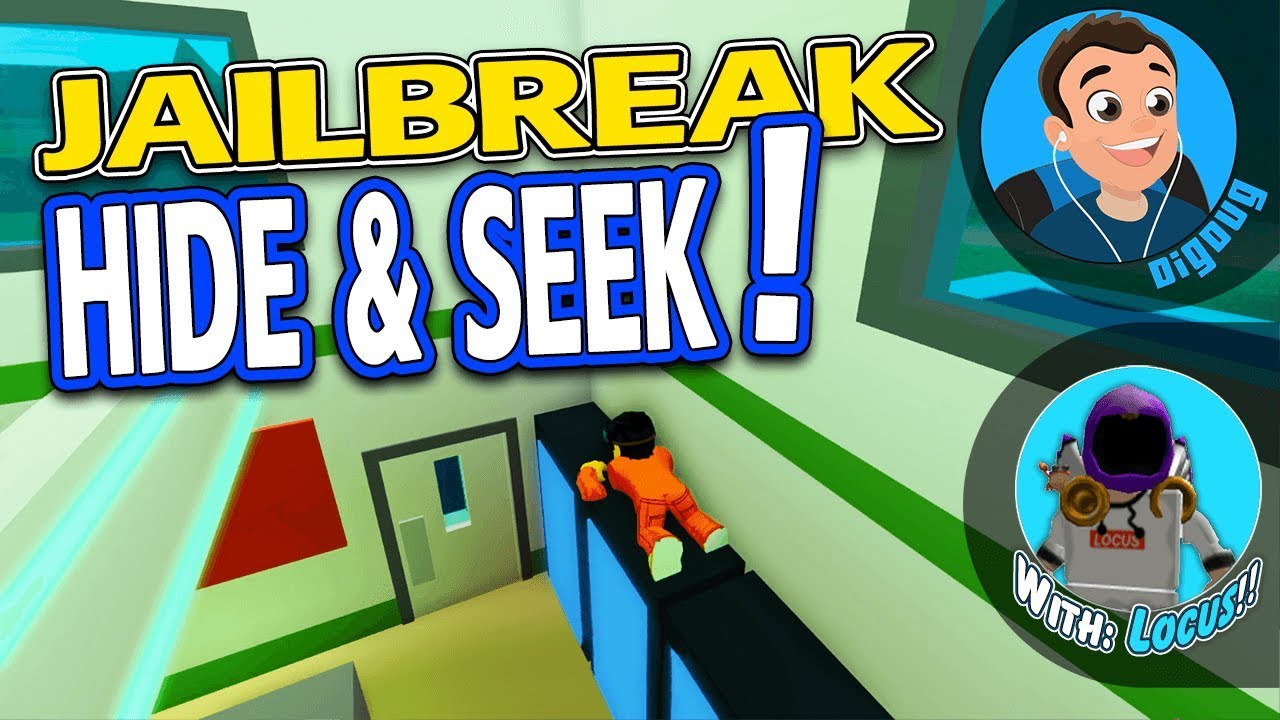 Locus And I Are Playing Hide Seek In Roblox Jailbreak It S A