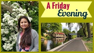Evening walk || An Evening in the garden || Summer time || An Evening in my life