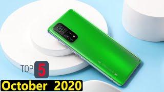 Top 5 UpComing Phones in October 2020 india Price & Launch Date