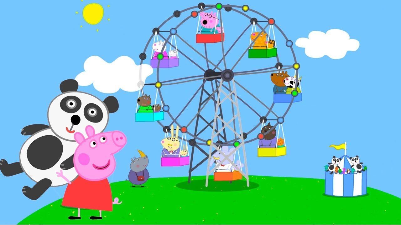Peppa Pig 🎪 Lunapark 🎡 Programının en iyi bölümleri | En iyi bölümler