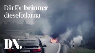 Dieselbilen skulle rädda klimatet – nu brinner den