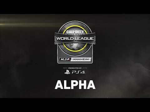 CWL Anaheim Open Presented by PlayStation 4 - Day 2 - Alpha Stream