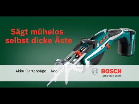 Super Bosch-Akku-Gartensäge Keo - YouTube #IL_24