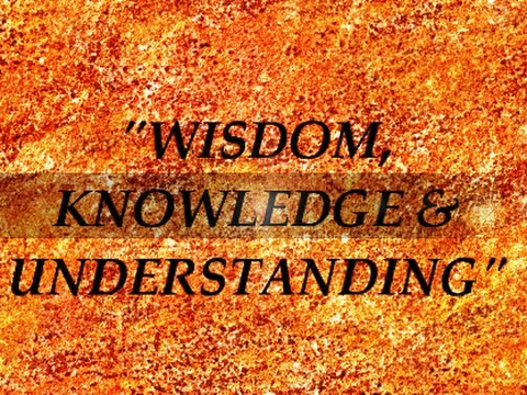 Iog Quot Wisdom Knowledge Amp Understanding Quot 2013 Youtube