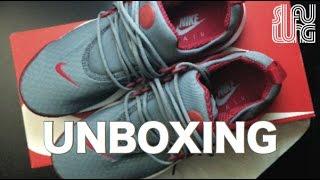 2c9e476b94ed (unboxing) Nike Air Presto Essential Gray red