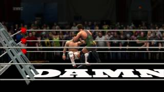 WWE 13 - Extreme Rules Match Rob Them Blind (RVD) vs Bryan Danielson