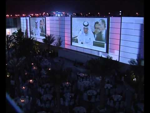 The Historic Moment of Announcing Abu Dhabi the Permanent Headquarter of IRENA .wmv
