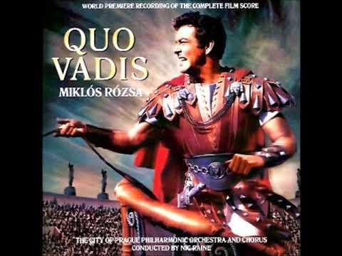 Quo Vadis Original Film Score  07 Fanfares For Nero , Hail Nero Triumphal March1