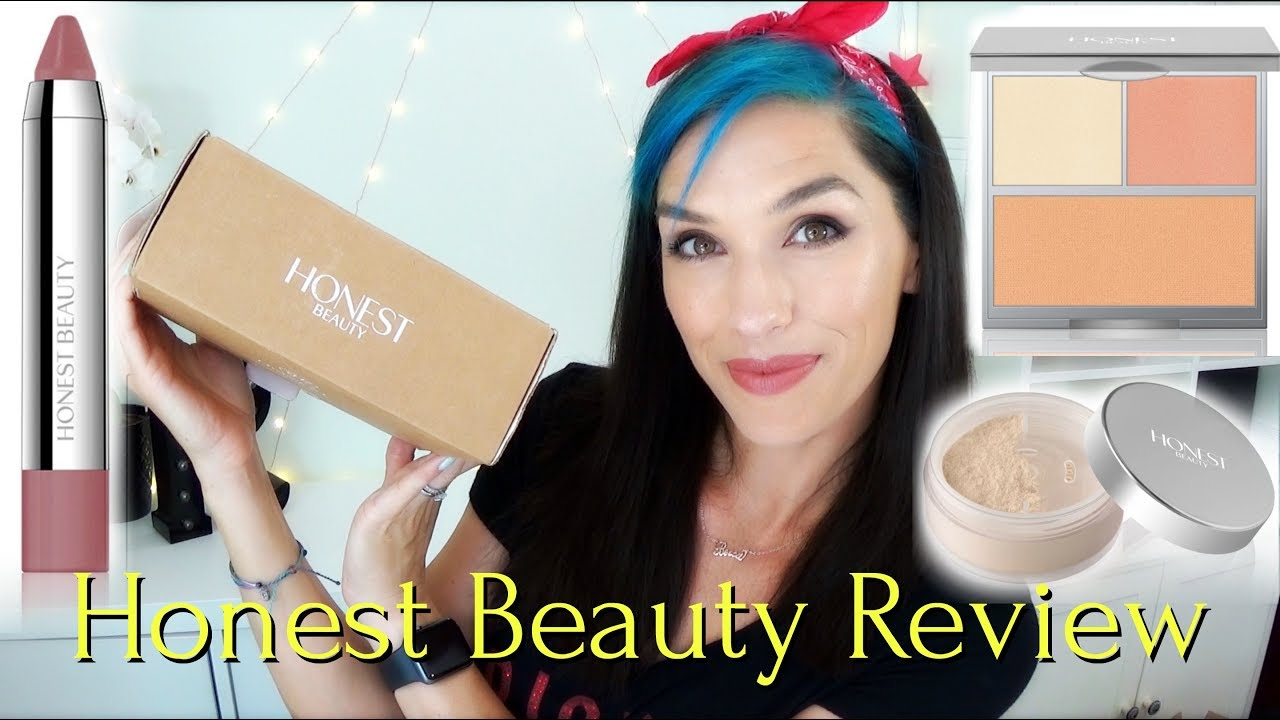 Honest Beauty Makeup Review And Application Youtube