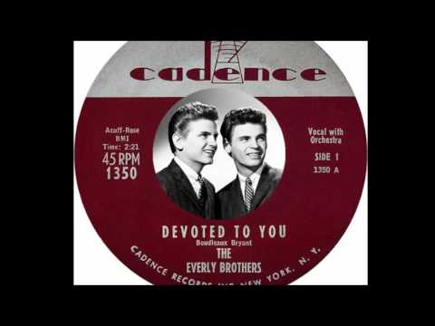 The Everly Brothers - Devoted To You  (1958)