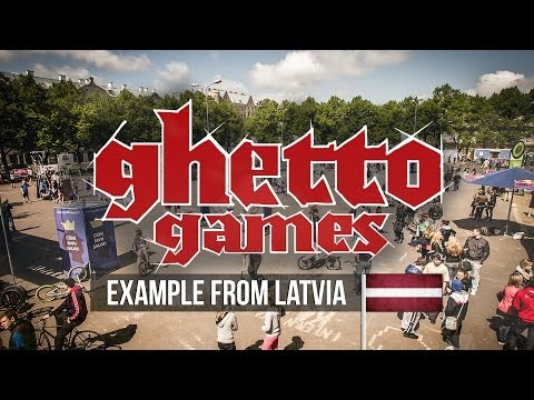 Medicines for Ghetto: Ghetto Games Example from Latvia