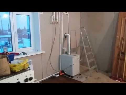 Отопление частного дома Ленинградка (однотрубная). Эконом вариант))