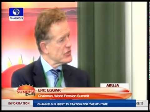Eric Eggink Urges Africans To Develop Trustworthy Pension Scheme
