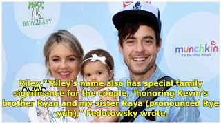Ali Fedotowsky révèle le nom du bébé - Voir la précieuse première photo!