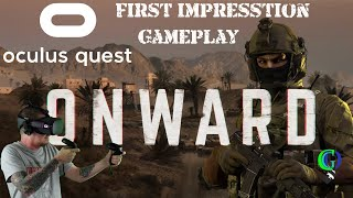 Onward Oculus Quest Gameplay | VR Online Shooter Multiplayer Game | My First Impression