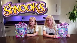 Shnooks Review Toys Opening Pop Shake Style Soft Toys   Hannah and Jessica