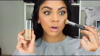 BEST MATTE FOUNDATION?! NEW CoverFX Power Play Foundation | Review/Testing