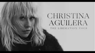 * NEW * Christina Aguilera   On The Air Interview With Ryan Seacrest
