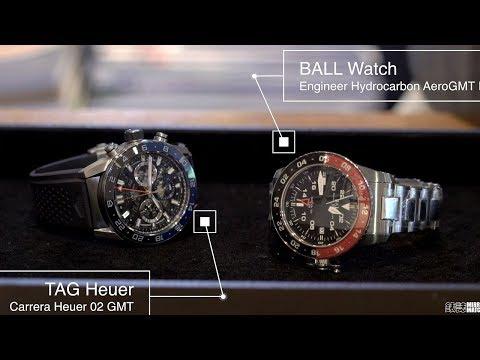 雙色圈魅力加倍!BALL Watch & TAG Heuer 2018新款解析