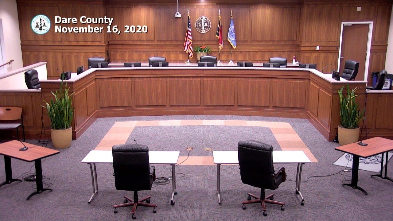 Dare County Game & Wildlife Meeting November 17, 2020