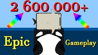 Deeeep.io The killerwhale in the place || 2 600 000+ with the last animal
