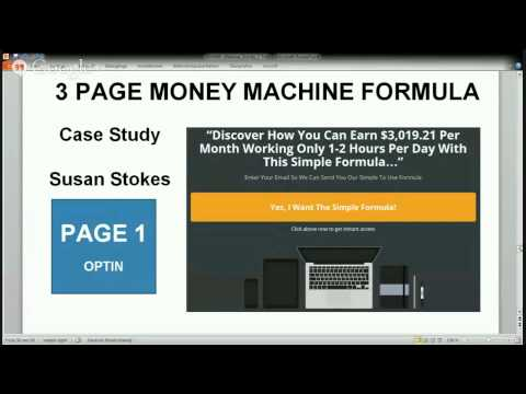 3 PAGE MONEY MACHINE FORMULA