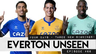 JAMES RODRIGUEZ, ALLAN AND ABDOULAYE DOUCOURÉ SETTLE IN! | EVERTON UNSEEN #66
