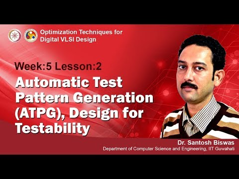 VLSI Design [ Module 04-  Lecture 14 ]  VLSI Testing: Automatic Test Pattern Generation